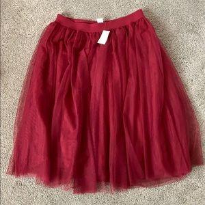 Tule Skirt - Large